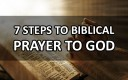 7 Steps To Pray According To The Bible | How Do I Pray To God? What Is The Best Way To Pray?