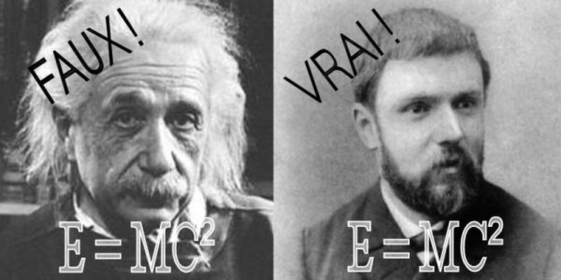 albert einstein vs henri poincare