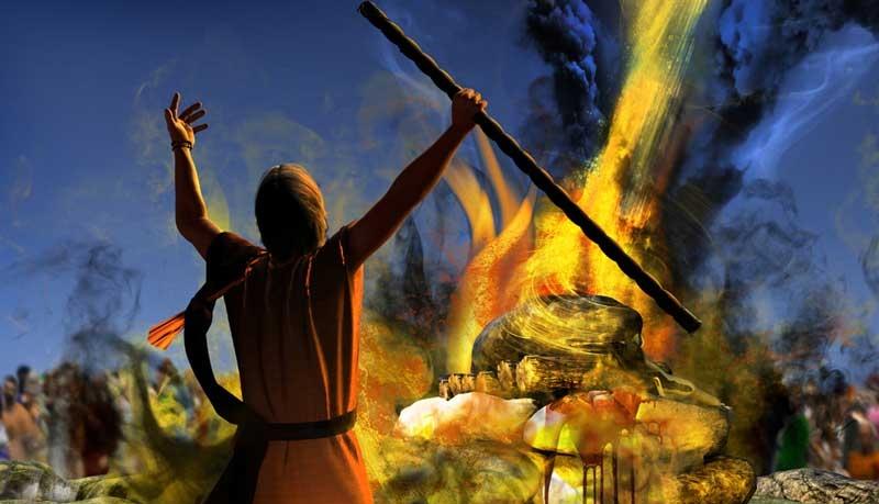 elijah fire altar