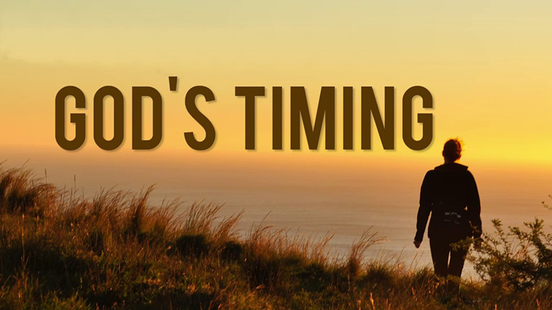 God's-timing